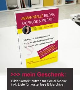 Gratis Abmahnfalle_Socialmedia Facebook und Bilder nutzen, kostenlose Bildarchive