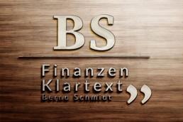 Bernd schmidt Finanzberatung_Broschüre Personal Branding Held DesignLogo 2