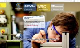 Webseite_Lebenshilfe Werkstätte_barrierefreie Seite_01 Held design gestalten