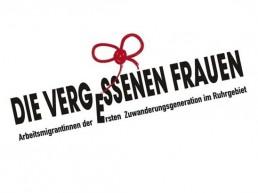 Logo die vergessenen Frauen Ausstellungs Design