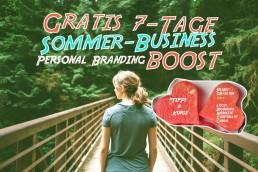 Sommer-Boost-fuer dein Business / Kreativ-Boost/ Logo / Webseite / Selbst gestalten / Personal Branding selbst machen